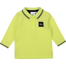 Load image into Gallery viewer, Lime Green Polo Shirt