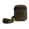 Khaki Boss Cross Body Bag