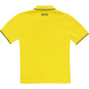 Yellow Rubber Polo Shirt