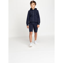 Load image into Gallery viewer, Navy Logo Zip Up Hoodie
