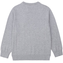 Load image into Gallery viewer, Grey Knitted Boss Jumper