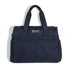 Load image into Gallery viewer, Navy Boss Changing Bag Set