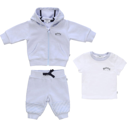 Blue 3 Piece Tracksuit Gift Set