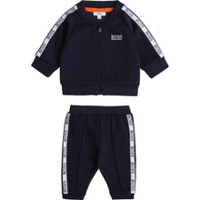 Load image into Gallery viewer, Navy Sport Trim Tracksuit