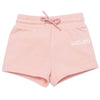 Pale Pink Sweat Shorts