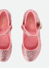 Load image into Gallery viewer, Pink Glitter 'Liza' Shoe