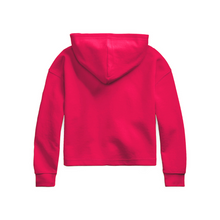 Load image into Gallery viewer, Pink Cropped Hoodie