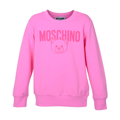 Pink Moschino Toy Sweat Top