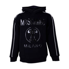 Load image into Gallery viewer, Boys Black Milano Hoodie
