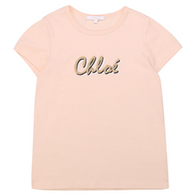 Load image into Gallery viewer, Pale Pink Logo T-Shirt