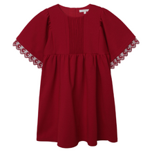 Load image into Gallery viewer, Red Chloé Pleated Dress