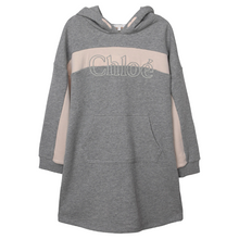 Load image into Gallery viewer, Grey Chloé Sweat Dress
