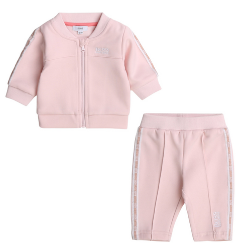 Pink 2 Piece Tracksuit