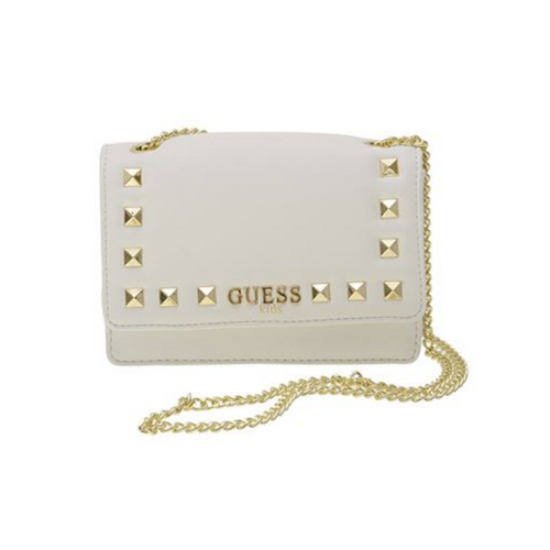 Cream Studded Bag