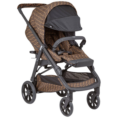 Brown FF Fendi Stroller