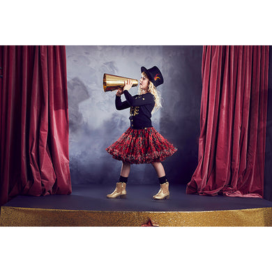 Red Tartan 'Nancy' Tutu Skirt