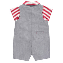 Load image into Gallery viewer, 2 Piece Dungaree & Polo Shirt