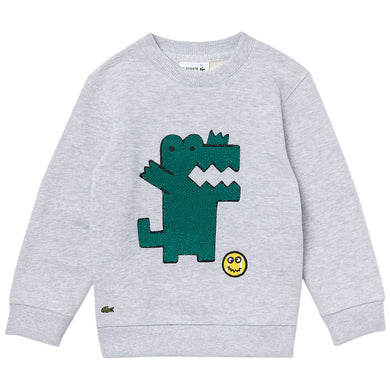 Grey Baby Croc Sweat Top