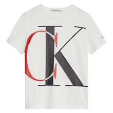 Load image into Gallery viewer, White & Red CK T-Shirt