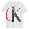 White & Red CK T-Shirt