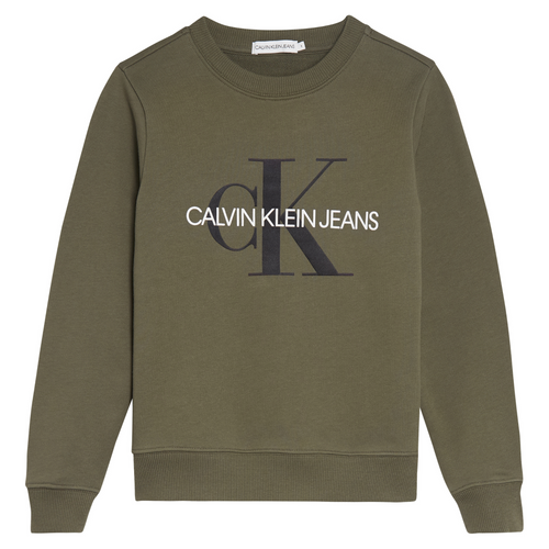 Khaki Green CK Jeans Sweat Top