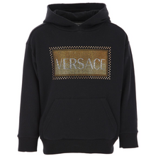 Load image into Gallery viewer, Black & Gold Embelished Hoodie