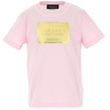 Pink & Gold Badge T-Shirt