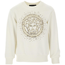 Load image into Gallery viewer, Ivory Embellished Sweat Top