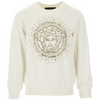 Ivory Embellished Sweat Top