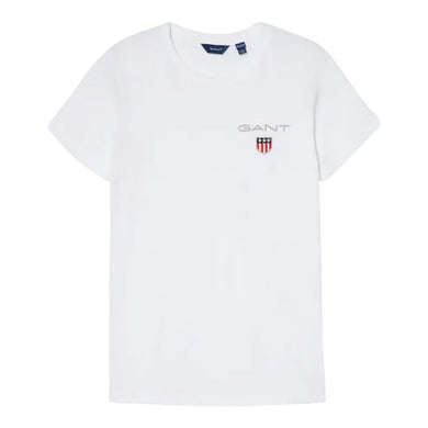 White Medium Logo T-Shirt