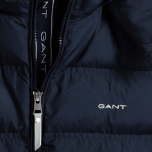 Load image into Gallery viewer, Navy Puffer Jacket