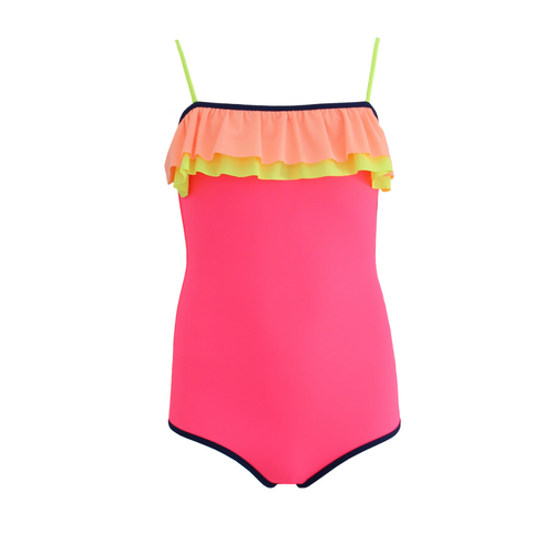 Pink Frilled Swimsuit