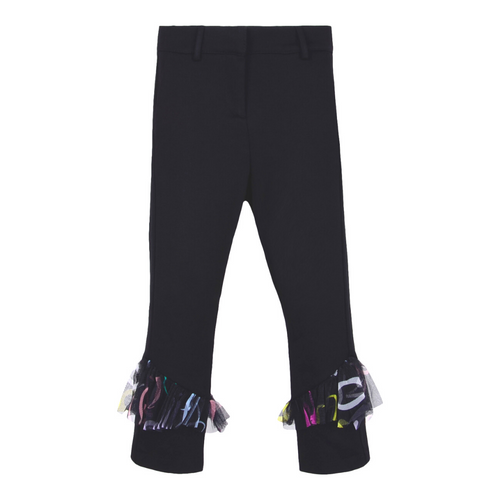 Black Netted Pucci Legging