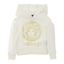 Load image into Gallery viewer, Ivory Medusa Logo Hoodie