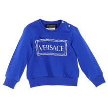 Load image into Gallery viewer, Blue Versace Sweat Top