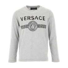 Load image into Gallery viewer, Grey Versace Top