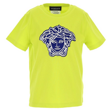 Load image into Gallery viewer, Lime Green Medusa Head T-Shirt