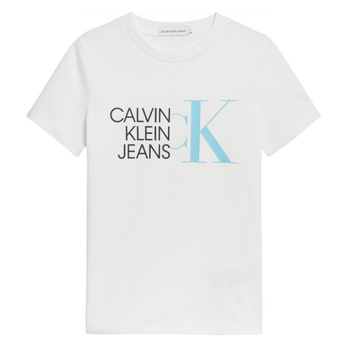 White Logo CKJ T-Shirt
