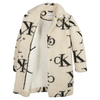 Ivory Teddy CK Coat