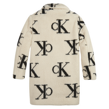 Load image into Gallery viewer, Ivory Teddy CK Coat