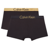 Boys 2-Pack Black & Gold Boxers