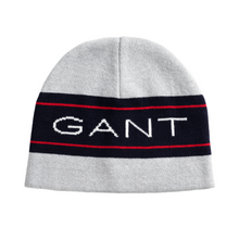 Load image into Gallery viewer, Grey Logo Beanie Hat