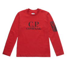 Load image into Gallery viewer, Red Long Sleeved C.P Top