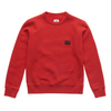 Red Logo Patch Sweat Top