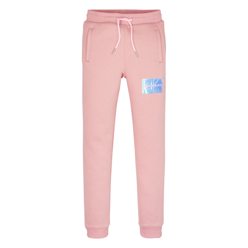Pink Iridescent Patch Sweat Pants