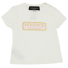 Load image into Gallery viewer, Ivory & Pink Badge T-Shirt
