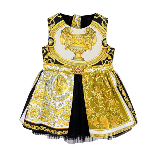 Black & Gold Barocco Dress