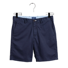 Load image into Gallery viewer, Boys Navy Chino Shorts