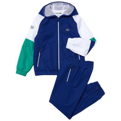 Blue & White Sport Tracksuit
