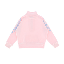 Load image into Gallery viewer, Pink 'Willow' Velour Half Zip